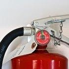 Cuál es el alcance máximo de la mayoría de los extintores portátiles