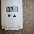 Razones para una pantalla en blanco en un termostato Honeywell