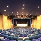 Que tipo de iluminação é usado em auditórios?