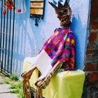 Decoraciones tradicionales para el Día de los Muertos