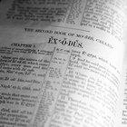 Lista de los 10 mandamientos de Dios