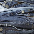 Denim is a cotton textile, which makes all-denim jeans biodegradable.