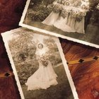 Use old photographs for a vintage decoupage tabletop.