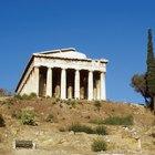 ¿Qué usaban los griegos para hacer pintura?