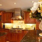 Cove lighting under cabinets can offer a designer look.