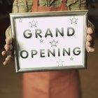 Como promover a inauguração de um supermercado