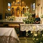 Ideias para arranjos de altar