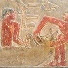 Herramientas de un escriba egipcio