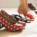 close-up of women's high heel shoe