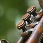 Como tocar bemóis e sustenidos no trompete