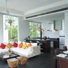 Cómo decorar una sala de estar en forma de L