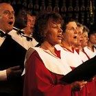 Maneiras de agradecer ao coral da igreja