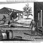 Profissões comuns durante o século XVIII
