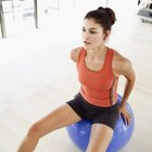 How to Sit on a Yoga Ball
