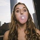 Os efeitos na língua de mascar chiclete