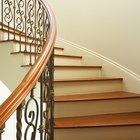 Cómo decorar un pasamanos de escalera con tul