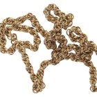 How to Clean a Brass Chain