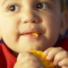 Cómo conseguir que un niño de 2 años coma alimentos sólidos