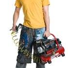 Cómo remover humedad de un compresor de aire mientras pintas