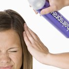 What are the dangers of aerosol hairspray?