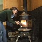 Posibles razones por las que regresa humo hacia la estufa de madera