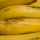 Cómo evitar que las bananas maduren demasiado rápido