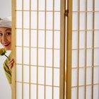 Como fazer um biombo japonês Shoji