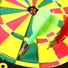 Regras para medidas de jogos de dardos