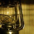 Lámparas de aceite o velas líquidas