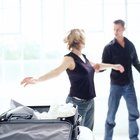 Woman packing her suitcase