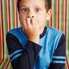 Cómo hacer que los niños no se muerdan los dedos