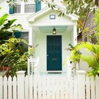 An example of the iconic white picket fence.