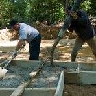 Cómo mezclar bolsas de cemento portland