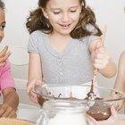 Pouring Cake Mixture Into Baking Tin