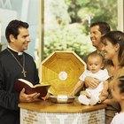 Cómo hacer un centro de mesa para bautismo de varón