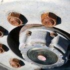 Cómo remover el óxido de las tuercas de ruedas