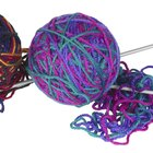 How to adjust a knitted pattern to different sized needles