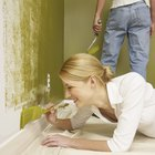 Consejos para pintar las paredes interiores en dos colores