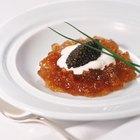 ¿De qué tipos de huevas de pescado está hecho el caviar?