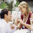 Cómo proponer matrimonio en un restaurante