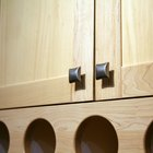 Correct placement for kitchen cabinet hardware