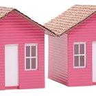 Cómo hacer tejas de arcilla de papel para una casa de muñeca