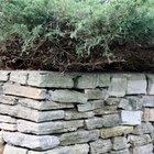 Cómo construir un muro de contención sin mortero