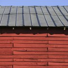 Detener la condensación de un techo de metal