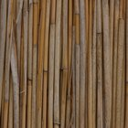 How to install a bamboo reed fence