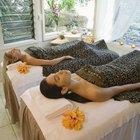 Como remover óleo de massagem de lençóis