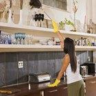 La mejor solución para limpiar el techo grasoso de la cocina