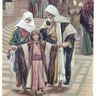 Actividades del niño Jesús en el Templo