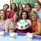 Sugerencias para los mensajes en el pastel de un baby shower