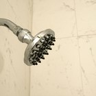 What height should a shower valve and spout be set at?